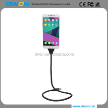 Lazy bracket usb data charging cable stand up hold the phone when driving