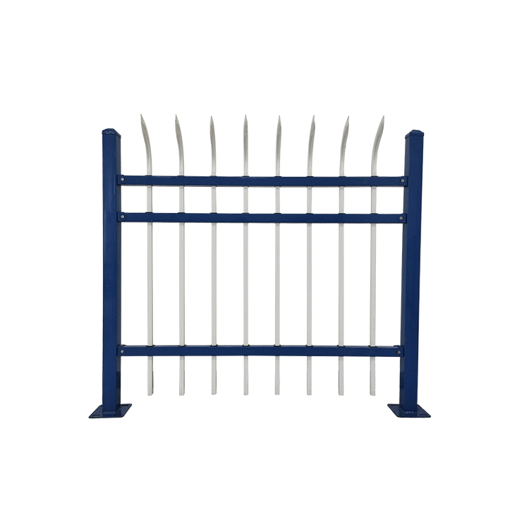 High Quality Wrought Security Zinc Steel Fence Metal for Garden Fence