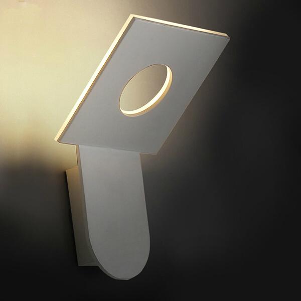 Modern led wall lights for bedroom balcony washroom Hardware+Acrylic 6W home decoration wall lamp free shipping