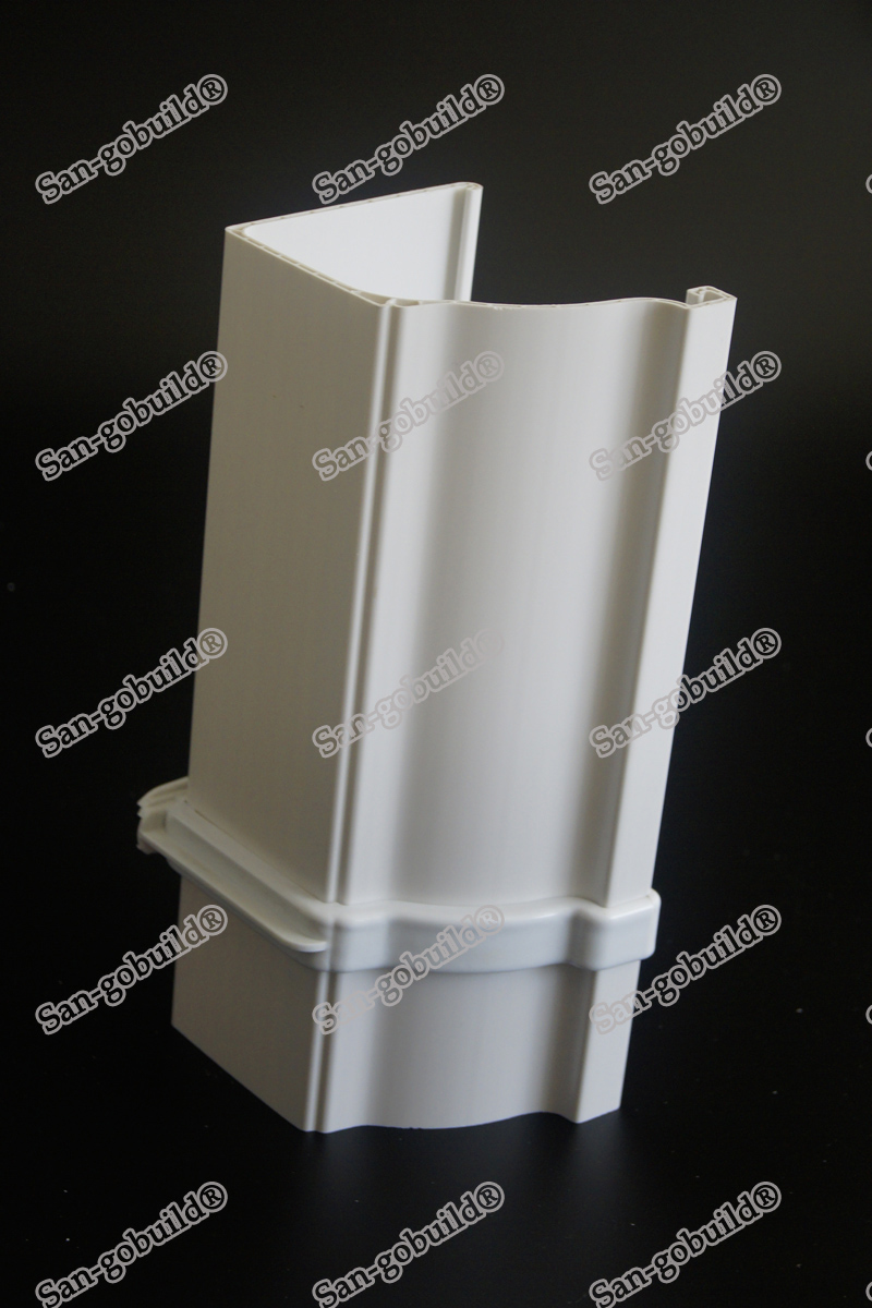 Eco Friendly Long Life Span Water Drainage System White