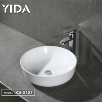 Simple design sanitary ware basin cheap price basin alibaba trade assurance chaozhou factory basin
