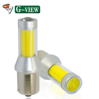 Factory Price 1156 35W COB Car Led Light S25 Ba15s Auto Car Led Reserve Backup Parking Light Bulbs