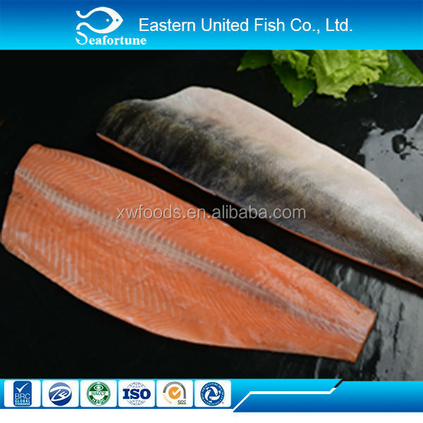 onchorhynchus keta good color 13 frozen chum salmon fish