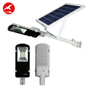 2018 New product remote control high lumen outdoor waterproof 10w 20w 30w 50w solar led streetlight