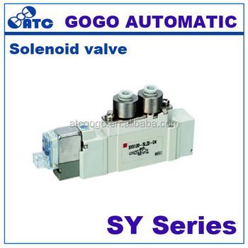 Sy7120-5dzd-02 Air Compressor Electric Valves