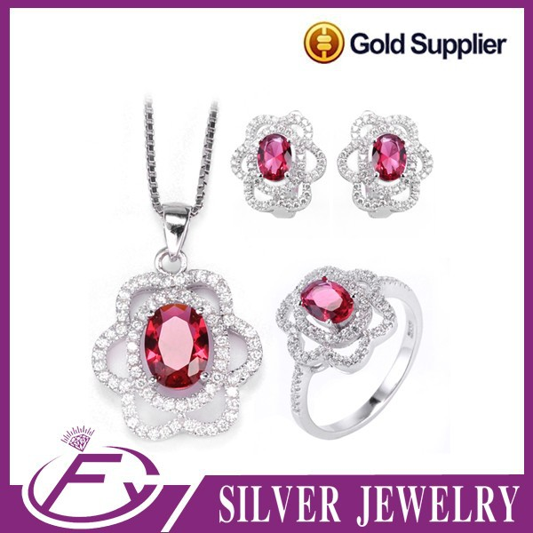 100% gurantee 925 sterling silver aaa cz stone trends asian jewelry
