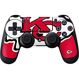 NFL Kansas City Chiefs PS4 DualShock4 Controller Skin - Kansas City Chiefs  Large Logo Vinyl Decal 39afc2b64