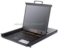 Safewell SW-LC1916 USB 16 Port KVM Switch with 19