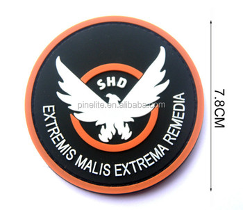 Custom design Pvc Military Patches