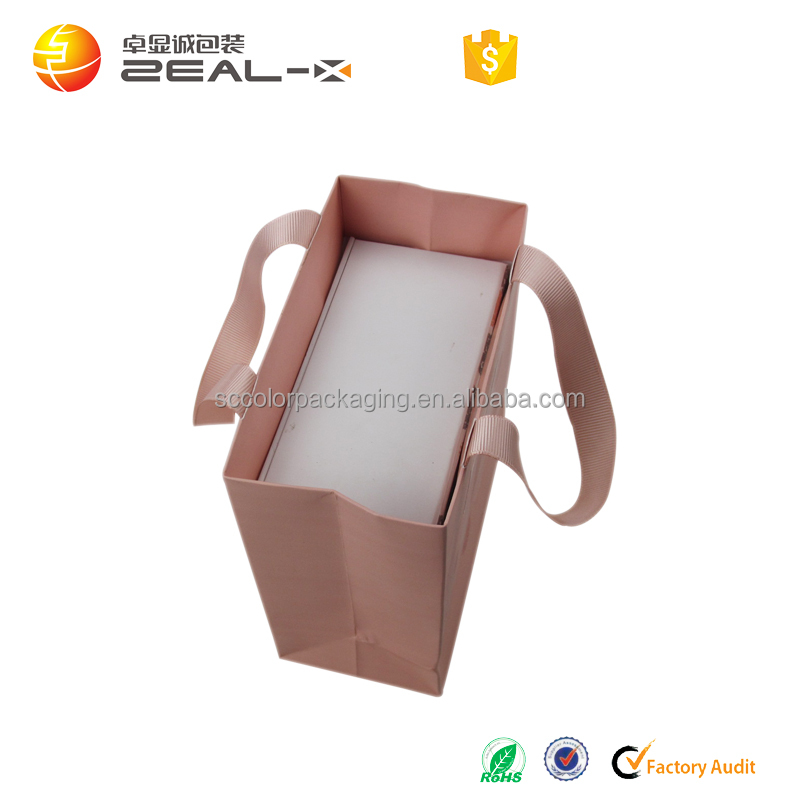 Fashion custom high quality logo printing paper bag packaging gift for sunglasses, gift sunglasses packaging paper bag