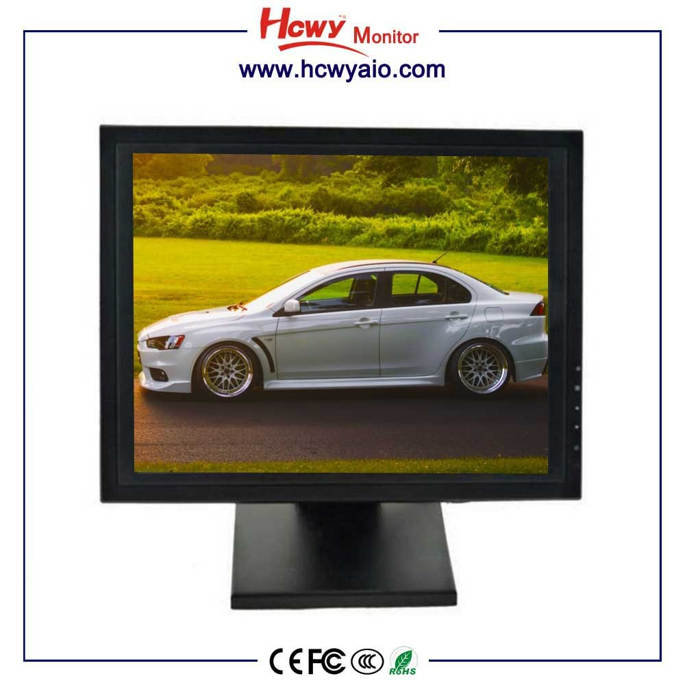 OEM 12 15 17 19 inch Touchscreen LCD Monitor For POS