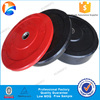 Weight lifting colored rubber bumper plate for sale