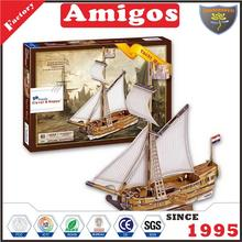 new toy puzzle Yacht Mary 83 pcs plastic jigsaw Puzzle