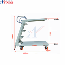 small folding warehouse steel step ladders