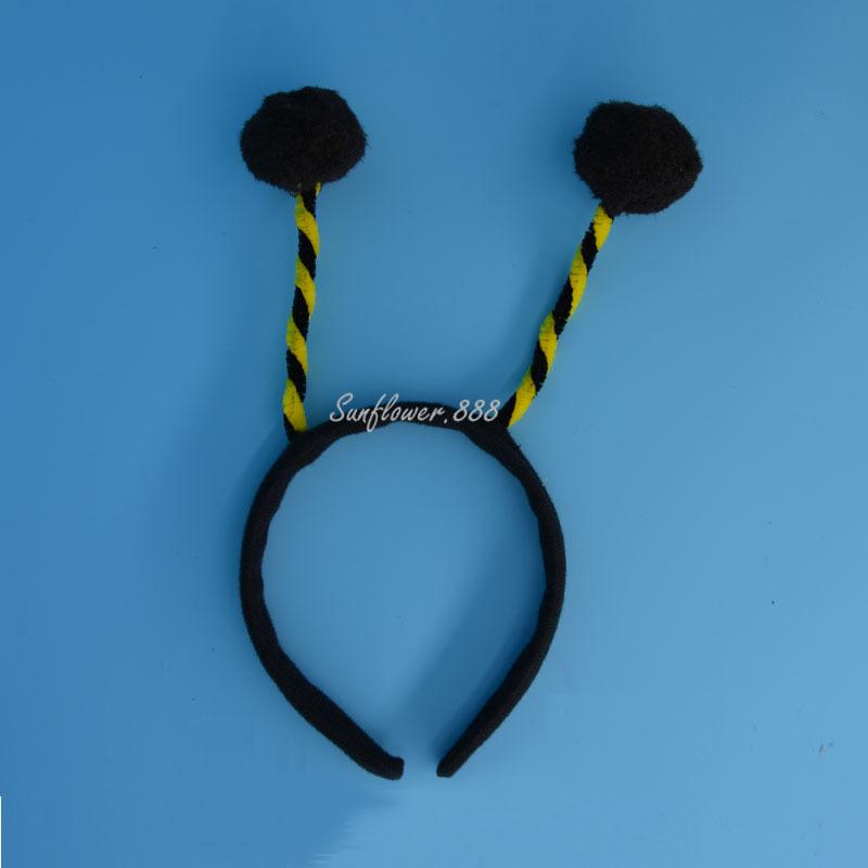 Lovely Black font b Children b font Adult Bee Ant Antenna Headband Head Band font b