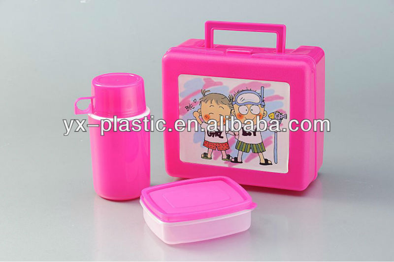 d4089c74e3a6 heat preservation Portable plastic lunch box with sealing container and  water bottle, View heat preservation lunch box, yonxing Product Details  from ...