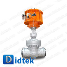 Didtek Cast Steel WCB Pneumatic Actuator Butt Weld Gate Valve