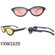 2017 fashion cat eye bamboo wooden polarized UV400 sunglasses