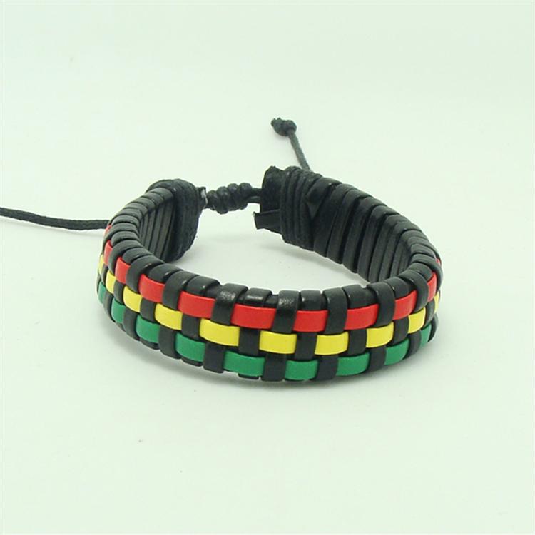 Rasta reggae bracelet, jamaican Reggae bracelet, As picture show or as request