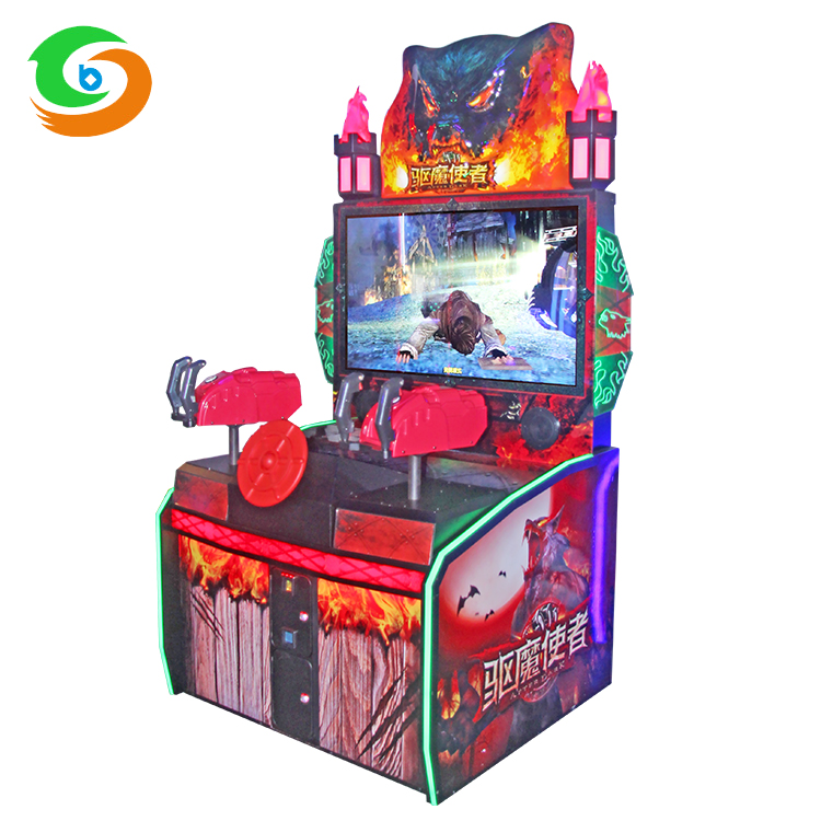 Arcade Games Fun for Kids with Awesome Laser Gun Shooting Video Coin Operated Machine