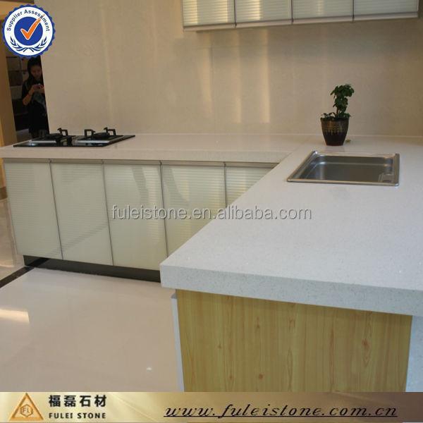 Fulei piedra blanca de cuarzo encimera de cocina precio for Encimeras de piedra precios