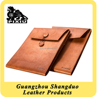 Top Supplier Bestselling Embossed Leather Certificate Holder File Folder