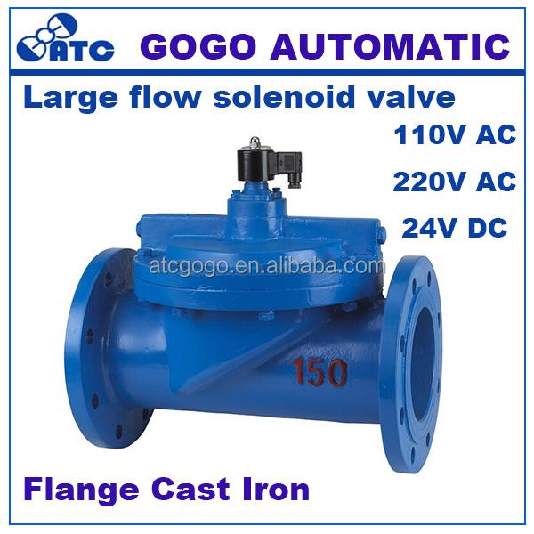 DC 12V 12W DC solenoide válvula eléctrica N//C normalmente abierto para flujo de aire válvula grandes