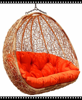 Rattan Chair Hanging Basket Balcony Chair Double Swing