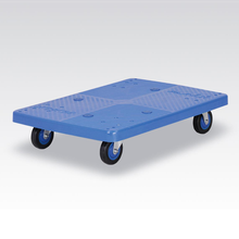 Heavy goods equipment platform plastic dolly for moving furniture