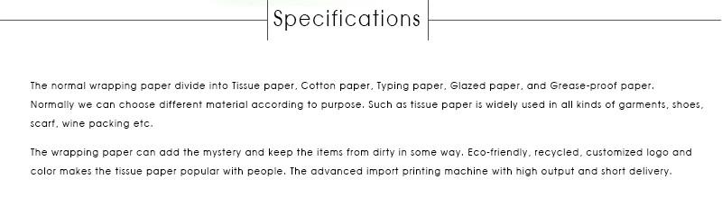 O Projeto original Do Presente Embalagens de Papel de Embrulho de Tecidos