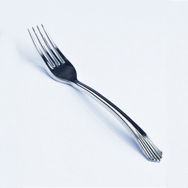 Small Silver Coated Fork
