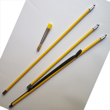 fiber glass spear 2.1M polespear 3 in 1 Traveler Pole Spear for spearfishing underwater