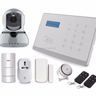 Auto [ Dialer ] Security Systems And Alarms Android IOS Wireless 3G 2G GSM Smart Home Alarm Security System Auto Dialer Wifi IP Camera