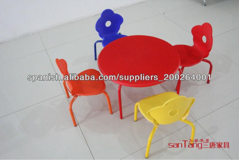 Mesa y sillas para niños / mueble infantil de guardería-Conjuntos de ...