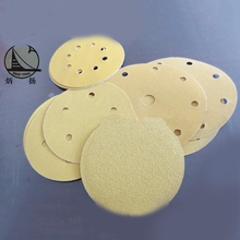 adhesive abrasive sand paper disc round sand paper