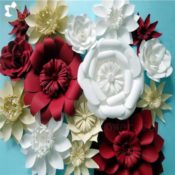 Beauty romantic flowers wall artificial tissue paper flowers beauty romantic flowers wall artificial tissue paper flowers bouquets for wedding decoration mightylinksfo
