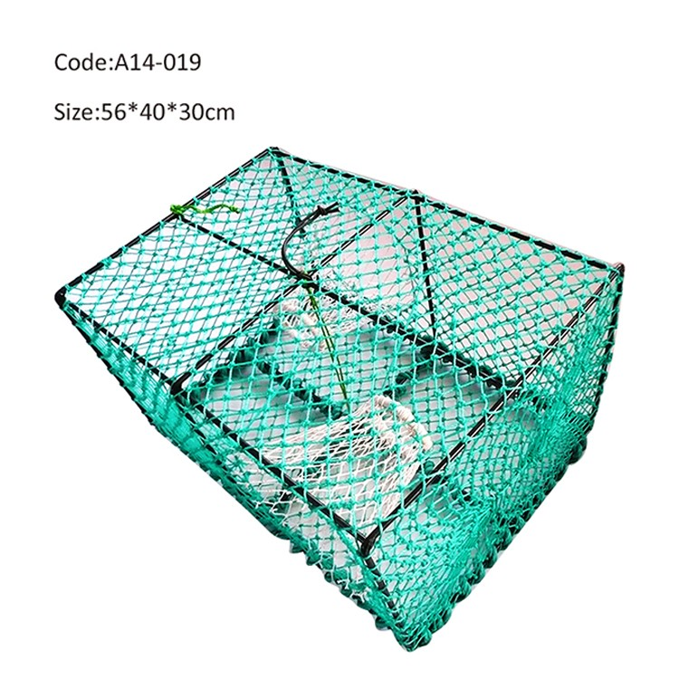 China Bright Green Plastic Lobster Trap Net Suppliers