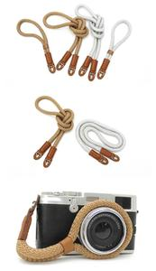 factory supply cotton rope camera straps with competitive price