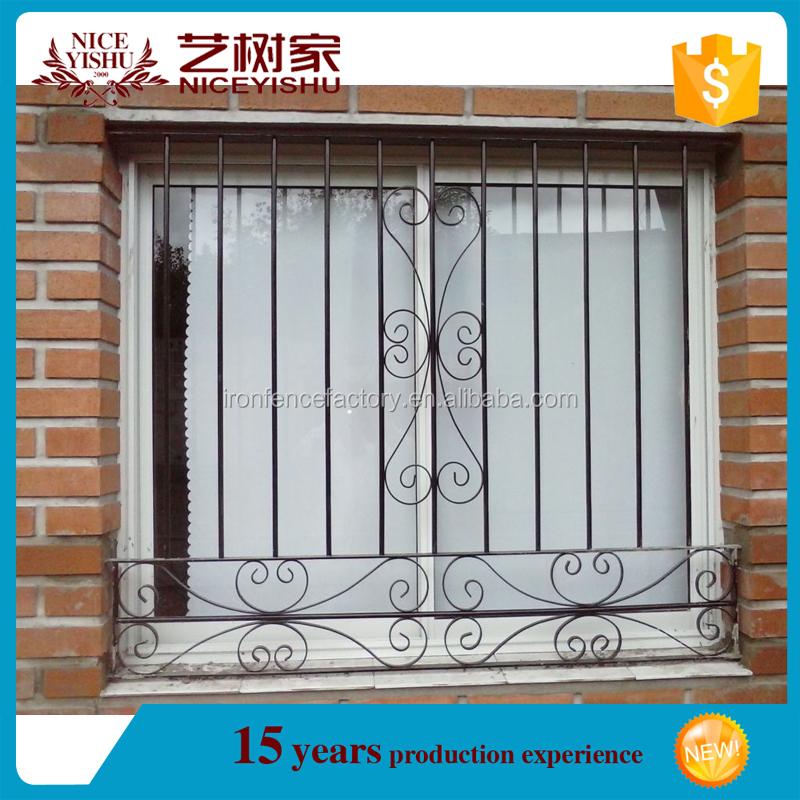 2016 Latest Window Grill Design/iron Grill Window Door Designs ...