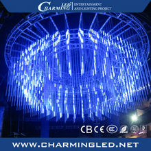 RGB disco LED celing falling star lights portable DMX led ceiling tube light led party club lighting for bar decor