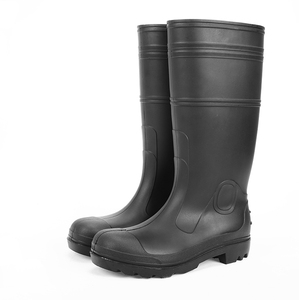 Hotsales Men waterproof PVC Safety working rain boots
