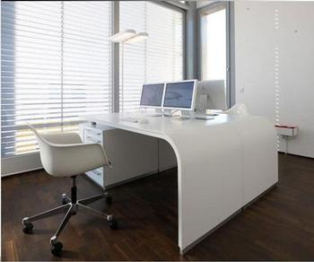 Oficina Mesa Contador Diseño/corians Escritorio Portátil/ordenador ...