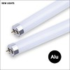economic type aluminum cap 8w 16w 20w T8 60cm 120cm 150cm glass led tube
