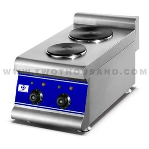 TT-WE1378A Commercial Electric 2 Plates Table Top Hot Plate Cooker