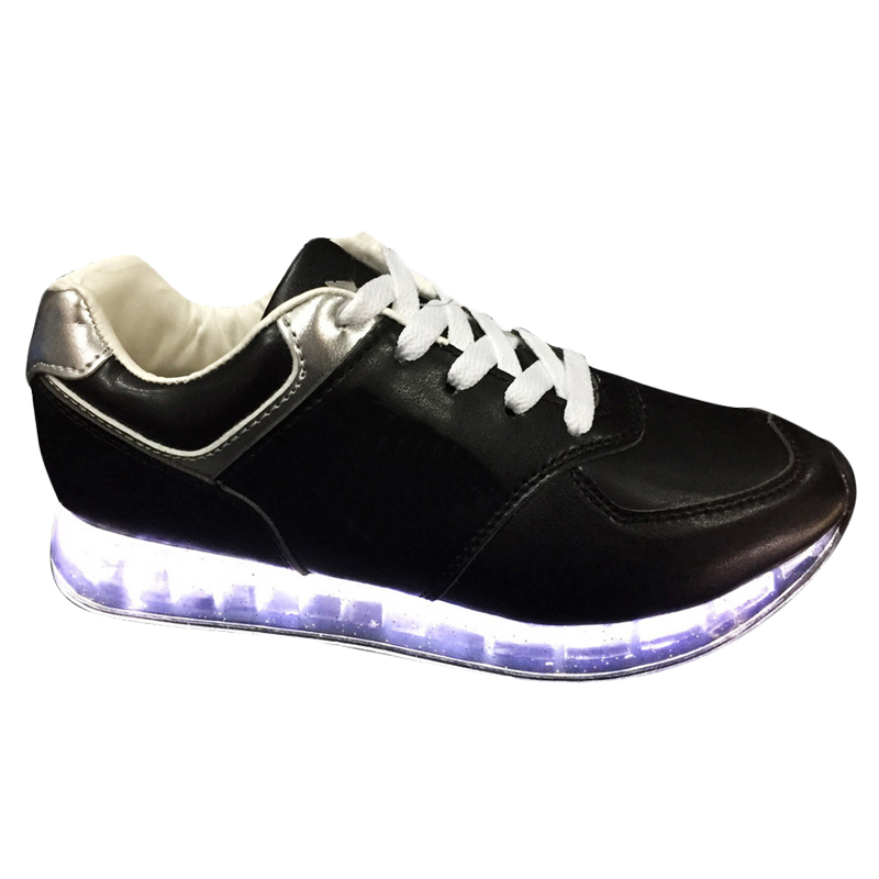 female shoes running fluorescent led fashion New student w8qP6xa