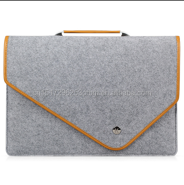 131415 inch Laptop Bag XPS portable computer bag wool felt bag