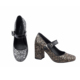 lady gaga shoes glitter shoe catwalk making supplies heels shoes factory