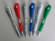 interesting and fashion Glue hand feel Glue Led Light Pen, plastic Led light pen,promotional gift,OEM welcome, CH0800A