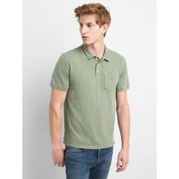 Casual korean style polo shirt Bamboo-knuckle Cotton Polo shirt short sleeve men polo tshirt