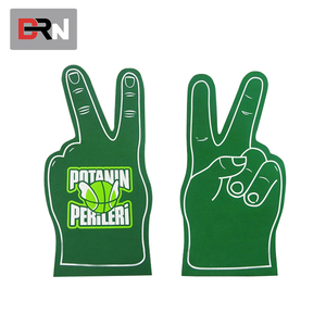 Foam Novelty Cheering Glove Promotion Hand Mitts giant hand foam Team Sports products